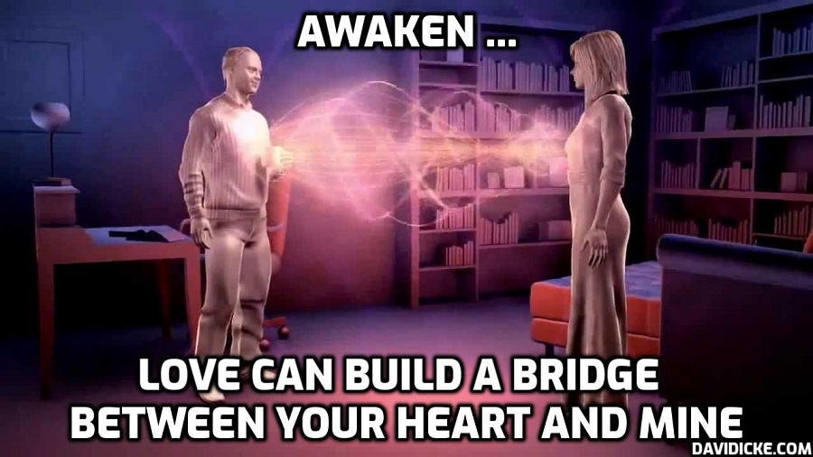 Love can build a bridge between your heart and mine