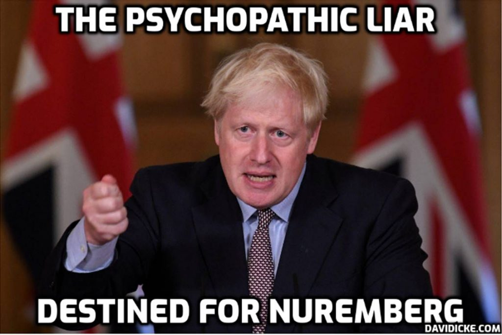 Shocking liar Johnson: 'Lockdowns caused cases and deaths to fall not vaccines.