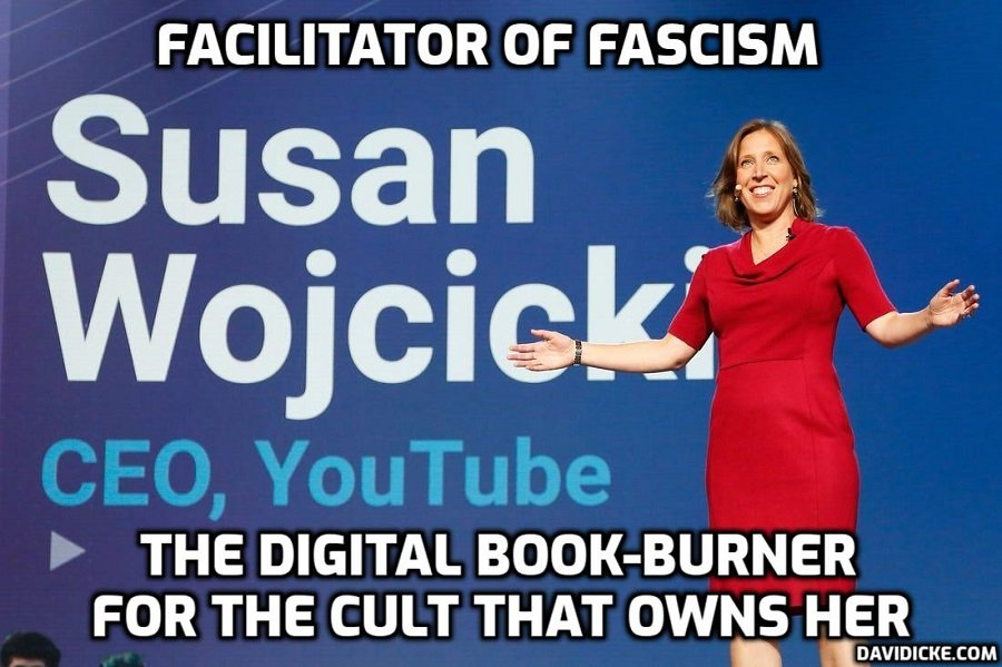 Cult's government-Big Tech alliance targeting all content challenging
